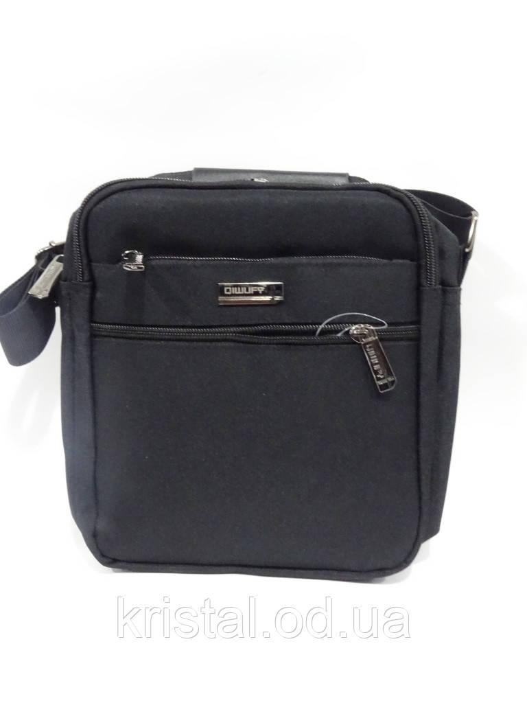 "Чоловіча текстильна сумка на плече 20*23 див. серії ""Gold"" №4110"