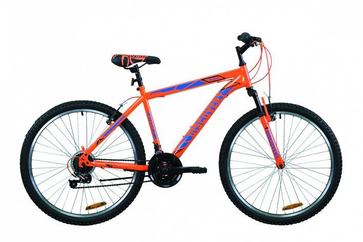 """Велосипед горный 26"""" Discovery Rider AM Vbr 2020 оранжево-синий, 13"""", фото 2"""