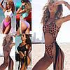 Стильный новый сексуальный сдельный купальник бикини шнурки 4 цвета