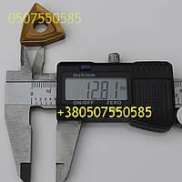 Пластина 02114-120612 Т15К6 твердосплавная сменная ГОСТ 19048-80 желтая