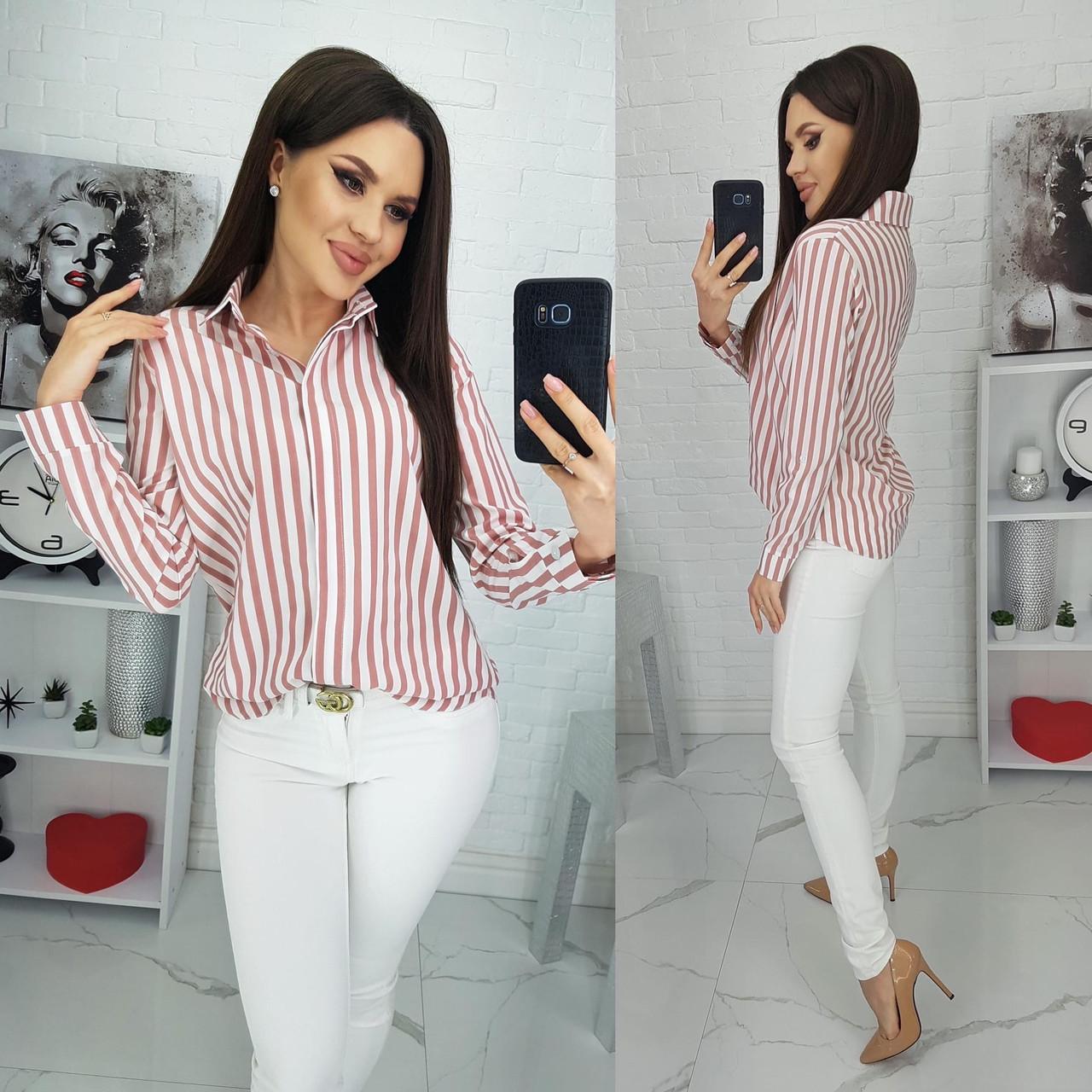 Женская рубашка в полоску,,женские рубашки