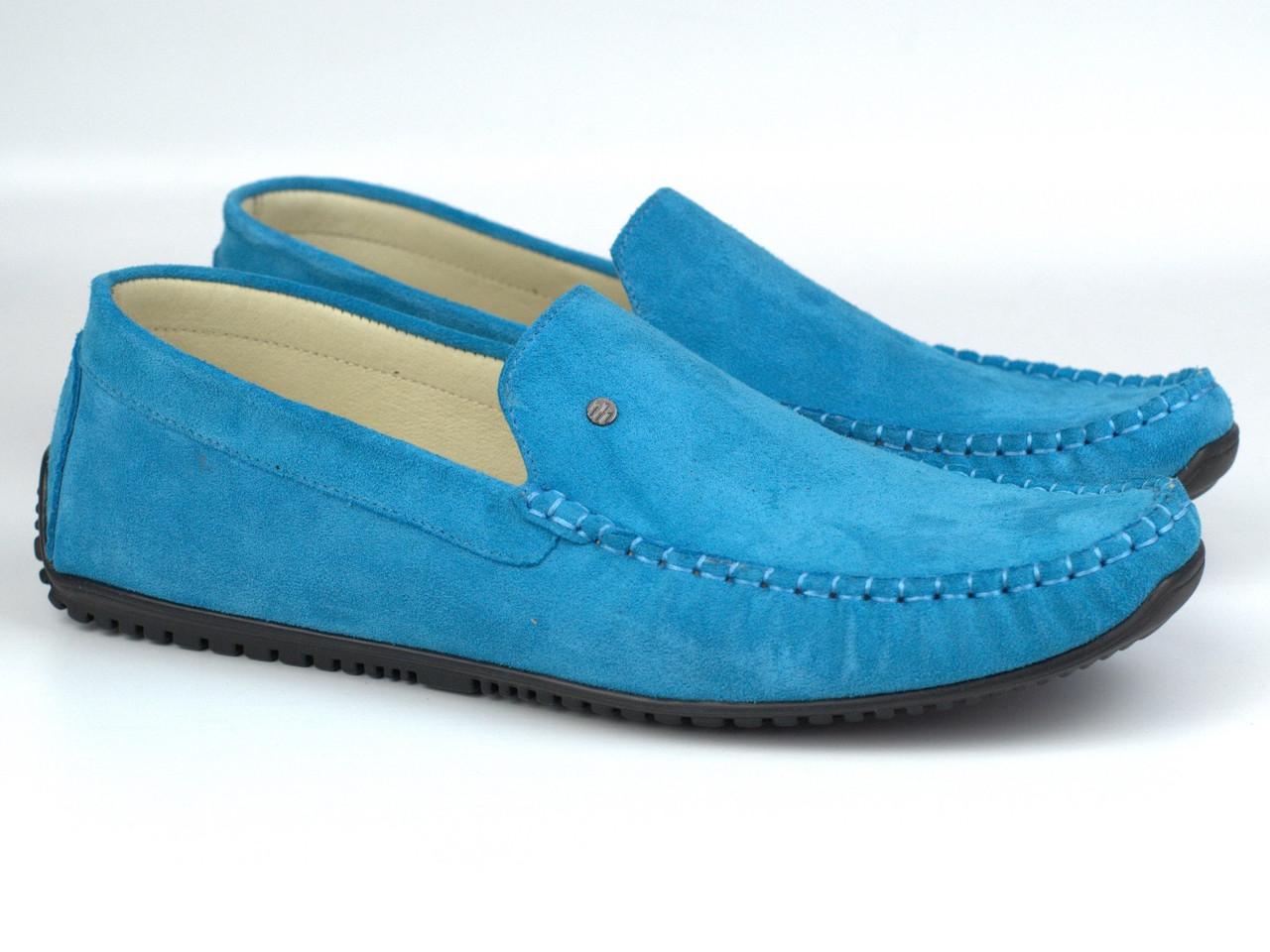 Rosso Avangard Alberto Turq бірюзові замшеві мокасини річна взуття повсякденне чоловіче