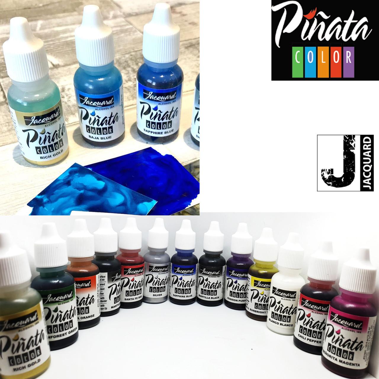 """Спиртовые чернила """"Jacquard Pinata"""" пр-во США, сапфировый 15 мл, 1017,  Sapphire Blue"""