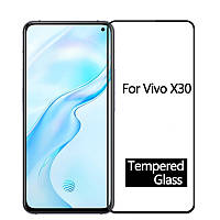 Защитное стекло с рамкой для VIVO X30