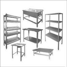 Нейтральное оборудование ( столы, стеллажи, мойки)