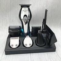 Профессиональная машинка для стрижки GEMEI Германия 10 в 1 триммер,электробритва,для стрижки бороды и усов
