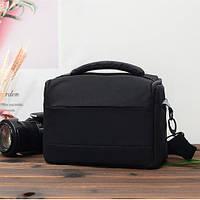 Фотосумка универсальная противоударная Canon EOS, Nikon, Никон, цвет черный ( код: IBF037B )