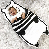 """Одеяло. Спальный мешок """"Белый медвежонок"""""""