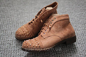 Женские ботинки ковбойки Европа Camel замш 36 - 41