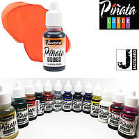 """Спиртові чорнило """"Jacquard Pinata"""" пр-во США, 15 мл, мандариновий 1003, Tangerine"""
