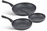 Набор сковородок с мраморным покрытием 20/24/28 см Edenberg EB-9901
