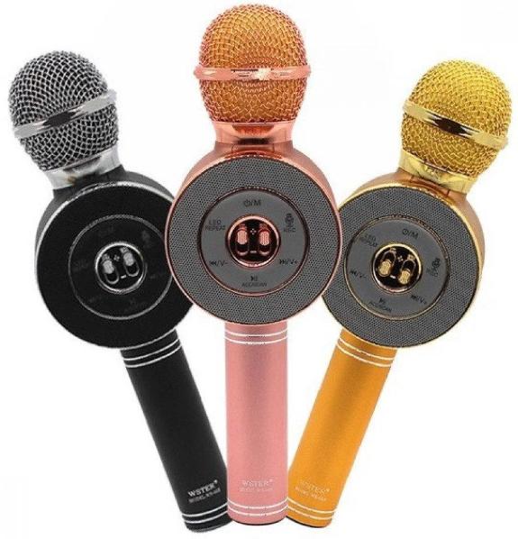 Беспроводной bluetooth караоке микрофон Wster WS-668 MX