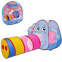 Детская палатка-игровой центр «Слон» 166х73х83 см (889-87B)
