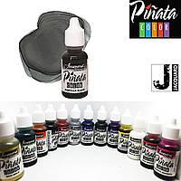 """Спиртові чорнило """"Jacquard Pinata"""" пр-во США, 15 мл, мантильский чорний 1031, Mantilla Black"""