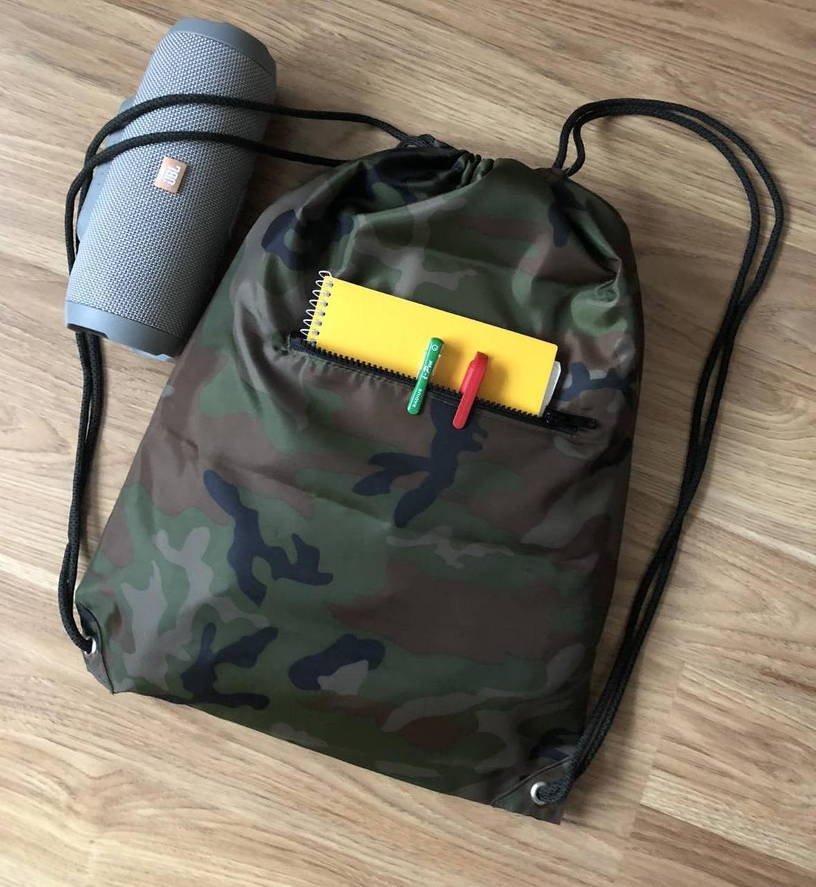 Сумка -рюкзак универсальная камуфляж