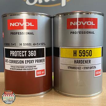 Грунт эпоксидный антикоррозионный Novol Protect 360 1:1, 800 мл + 800 мл Комплект