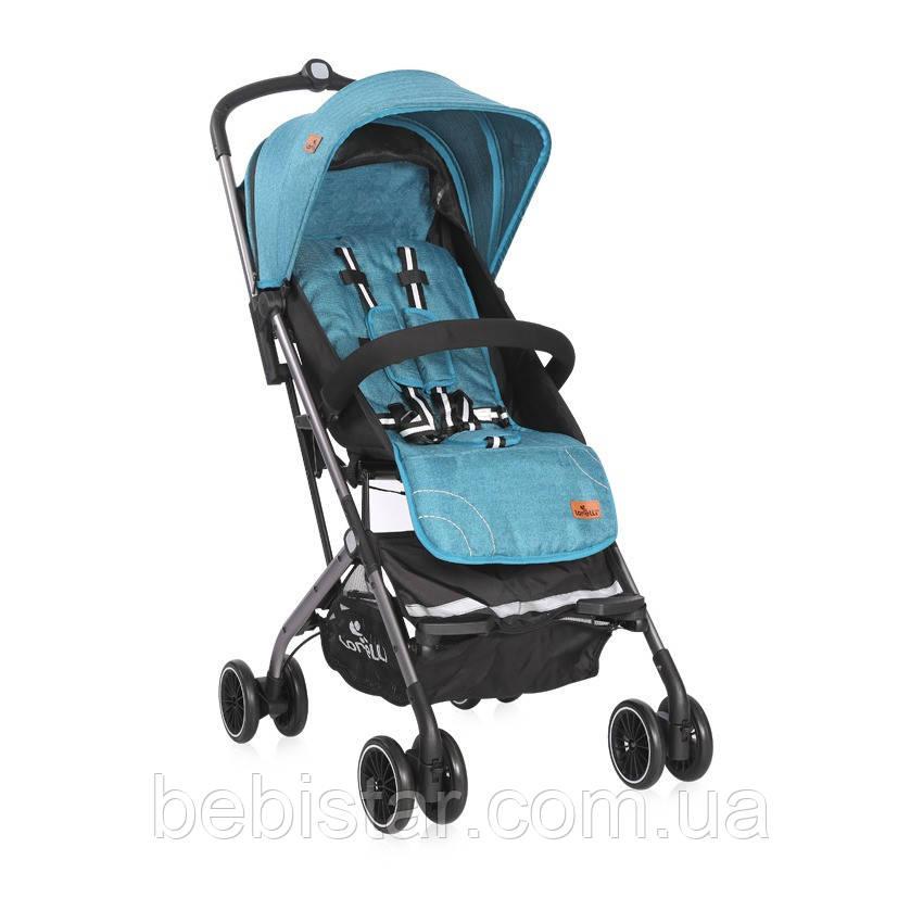 Детская прогулочная коляска синяя Lorelli Helena от 6 месяцев до 3-х лет