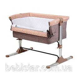 Приставная кроватка Lorelli Sleep'N'Care с рождения и до 6-ти месяцев