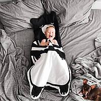 """Одеяло. Спальный мешок """"Черный медвежонок"""""""