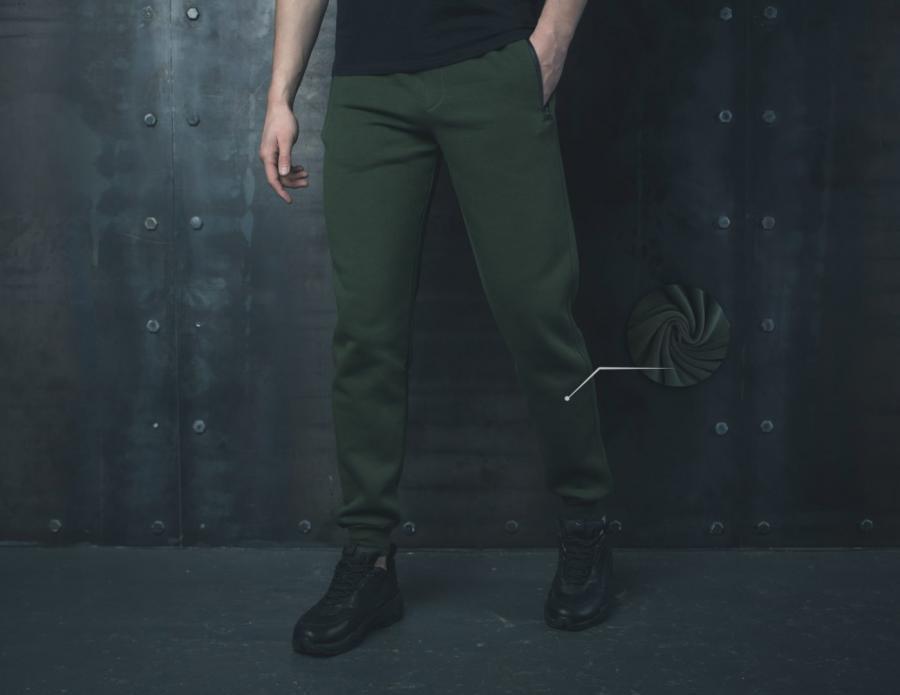 Теплые спортивные штаны BEZET Khaki '19 (только S)