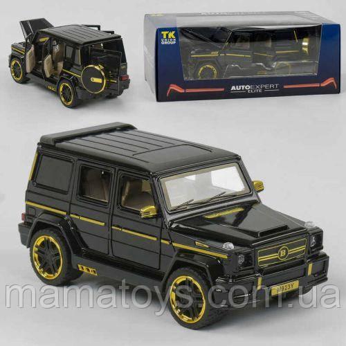 Машинка Джип металлический EL 4125 ТК Group, 2 цвета, свет, звук, открываются двери, в коробке