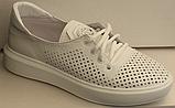 Кросівки білі жіночі від виробника модель ЛИ134, фото 2