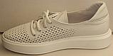 Кросівки білі жіночі від виробника модель ЛИ134, фото 3