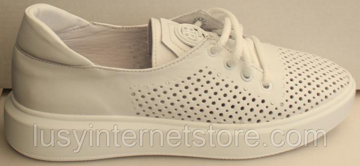 Кросівки білі жіночі від виробника модель ЛИ134