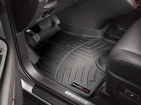Ковры резиновые WeatherTech Lexus RX 2004-2008 передние черные