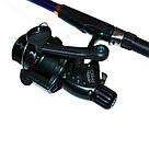 Рыболовный(карповый) набор 2 спиннинга Tekker 2.40 м. + чехол, фото 8