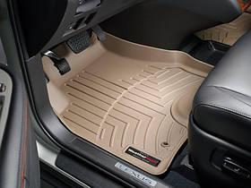 Ковры резиновые WeatherTech Lexus RX 2004-2008 передние бежевые