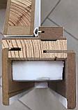"""Межкомнатные двери ECO Doors Smart С018 """"Омис"""" ПВХ со стеклом 60, 70, 80, 90 см, фото 5"""