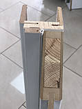 """Межкомнатные двери ECO Doors Smart С018 """"Омис"""" ПВХ со стеклом 60, 70, 80, 90 см, фото 4"""