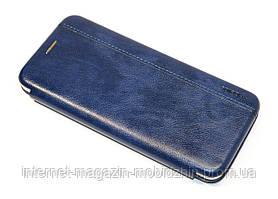 Чехол-книжка Samsung A315 Galaxy A31 синяя Gelius Leather