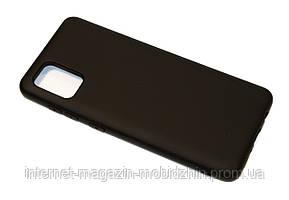 Чехол силиконовый Samsung A315 Galaxy A31 Silicon Black