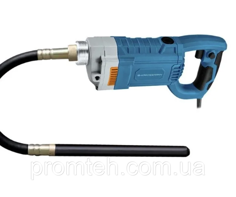 Бетонный вибратор KRAISSMANN 950 BR 2/35 (шланг-наконечник длиной 2 метра)