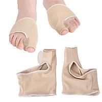 Мягкий стягивающий бандаж для большого пальца стопы с перегородкой