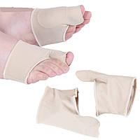 Мягкий стягивающий бандаж для большого пальца стопы с закрытой перегородкой