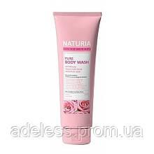 Гель для душа Роза и Розмарин Evas Naturia Pure body wash Rose & Rosemary, 100мл