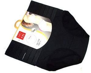 Трусы - корсет черные хлопок размер 2XL(52-54