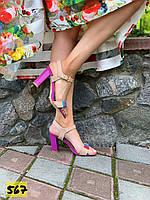 Женские летние босоножки на каблуке 36,38 размер