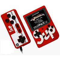 Ігрова консоль ретро приставка з додатковим джойстиком dendy SEGA 400 ігор 8 Bit SUP Game чорний Червоний