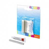 Универсальный Ремкомплект для надувных изделий Intex 59632 заплатка, клей 5,7 мл Оригинал (Интекс 59632)