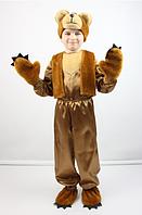 Карнавальный костюм Мишка рыжий для мальчиков от 3 до 8 лет, фото 1
