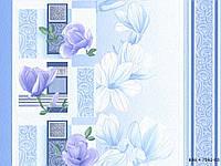 Шпалери вологостійкі мийка Суланжа 7062-03 блакитний, фото 1
