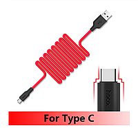 Зарядка USB кабель для Samsung Galaxy A30s (A307) Hoco X21 USB Type-C