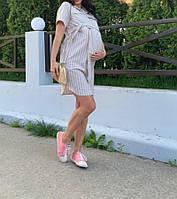 Платье рубашка для беременности и кормления грудью., фото 1