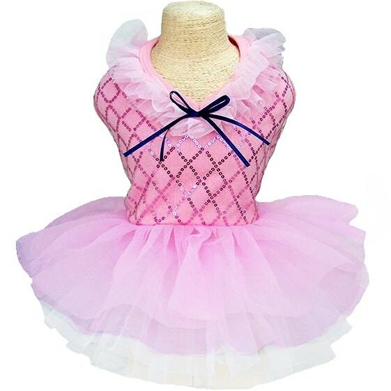 Плаття для собак «Фея», рожевий, одяг для собак дрібних і середніх порід