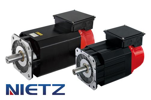Шпиндельный электродвигатель NY-4-180M-В (2,2 кВт, 1000/3000/4000 об/мин, 3х380В) с тормозом