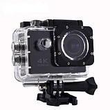 Экшн-камера Action Camera B5 WiFi 4K с водонепроницаемым боксом, фото 2
